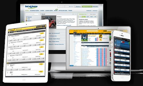Prikaz online kladionica u desktop, laptop, mobitel i tablet verziji